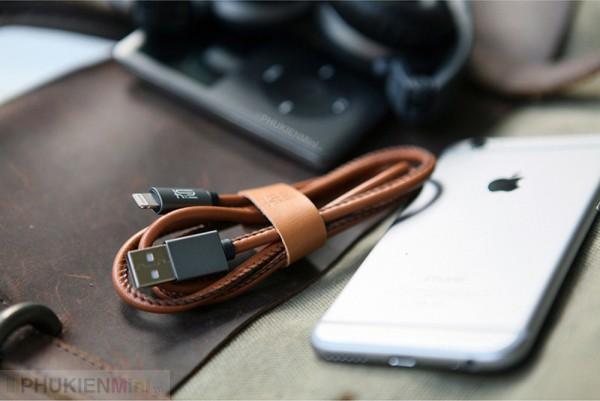 Cáp lightning Maoxin bọc da cho iPhone, iPad, loại Cáp Lightning, Cáp Tròn, Dây Bọc da