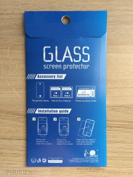 Dán cường lực 9H cho Sony, loại Kính Cường lực, độ cứng 9H, mỏng 0.1 mm