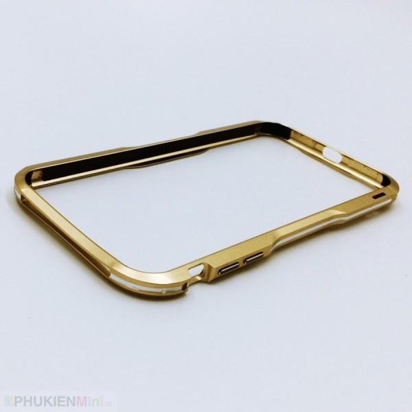 Viền nhôm bumper LUPHIE siêu nhẹ phối màu cho iPhone, kiểu Màu trơn, Độc lạ, chất liệu Kim loại, loại Viền