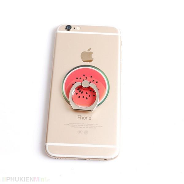 Nhẫn ring giá đỡ điện thoại cute -Màu Ngẫu nhiên, chất liệu Kim loại, Nhựa, loại Nhẫn, màu Nhiều màu