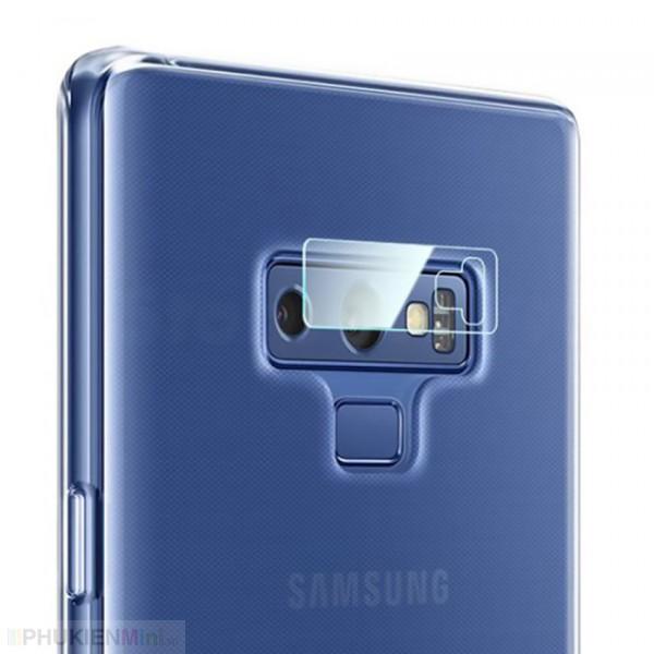 Kính dán cường lực bảo vệ camera sau chống trầy xước, bể nứt cho Samsung , loại Kính Cường lực, độ cứng 9H, mỏng 0.2 mm