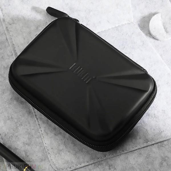 Hộp túi phụ kiện công nghệ BUBM chống sốc chuyên dụng đựng ổ cứng di động, pin sạc dự phòng, cáp sạc, tai nghe, chất liệu Nhựa PC cứng, loại Túi đựng phụ kiện