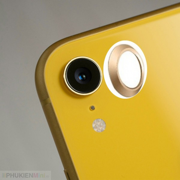 Viền hợp kim bảo vệ camera lồi cho iPhone, loại Trang trí điện thoại