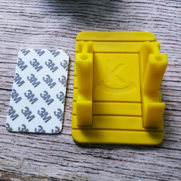 Đế dựng điện thoại, ipad chữ K, chất liệu Nhựa, loại Đế dựng, màu Vàng