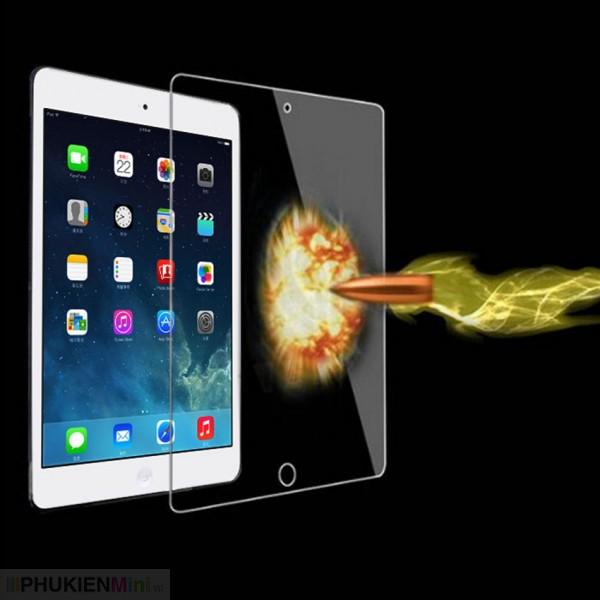 Miếng dán cường lực loại tốt có khoét lỗ camera cho iPad (hàng hộp), loại Kính Cường lực, độ cứng 9H, mỏng 0.3 mm