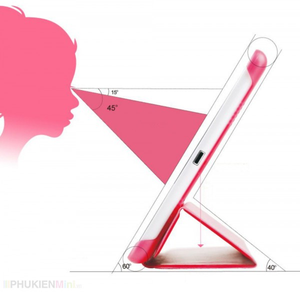 Bao da Remax Hong Kong cho iPad, kiểu Màu trơn, chất liệu Da PU, loại Bao da