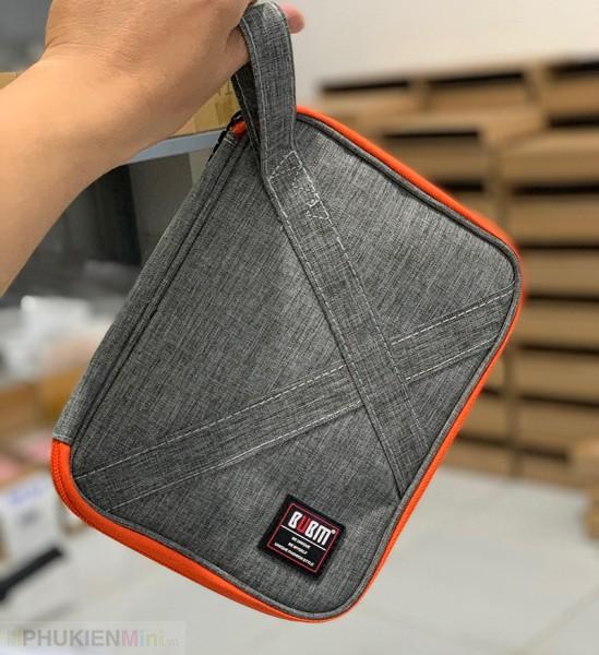 Túi đựng phụ kiện công nghệ chuyên dụng BUBM có quai đa năng nhiều ngăn đựng dây cáp sạc, pin dự phòng nhiều size , chất liệu Vải chống thấm, loại Túi đựng phụ kiện