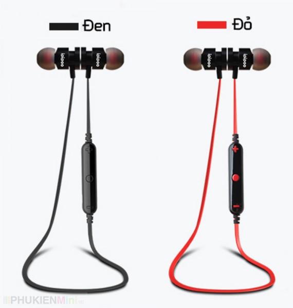 Tai nghe bluetooth nhét tai thể thao có micro, volume ipipoo chính hãng, loại Tai nghe nhét tai