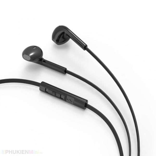 Tai nghe BYZ nhét không đau có micro nghe gọi, điều chỉnh volume to nhỏ, loại Tai nghe nhét tai