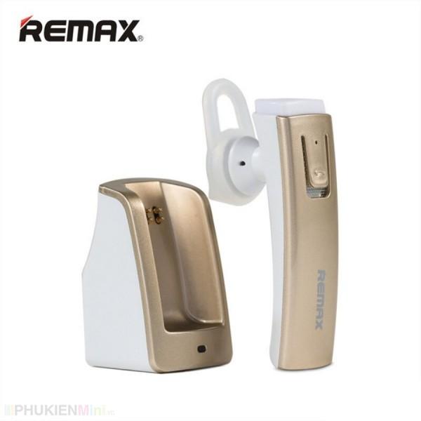 Tai nghe Remax RB-T6C có đế sạc làm giá đỡ tai nghe, có chốt cài khe gió ô tô - hàng hãng bảo hành 6 tháng đổi mới, loại Tai nghe 1 bên có mic