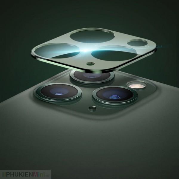 Viền hợp kim kèm kính Totu bảo vệ camera lồi cho iPhone, chất liệu Hợp kim, Kính, loại Trang trí điện thoại