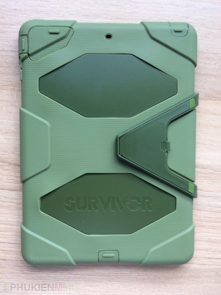 Ốp Survivor 360 chống sốc chuyên dụng cho iPad, kiểu Màu trơn, chất liệu Nhựa, Silicone, loại Ốp lưng