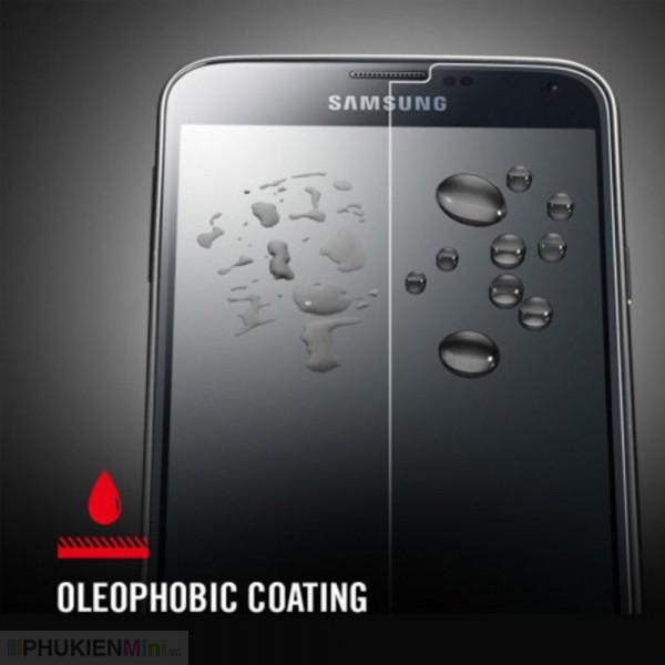 Dán cường lực Galaxy S5 (hộp nhựa), loại Kính Cường lực, độ cứng 9H, mỏng 0.3 mm, màu Không màu trong suốt