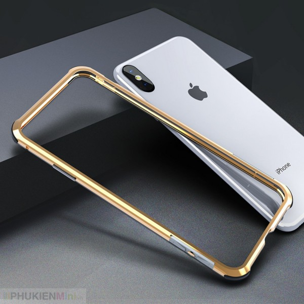 Viền nhôm bumper siêu nhẹ chống sốc, viền phối màu cho iPhone, kiểu Màu trơn, Độc lạ, chất liệu Kim loại, loại Viền