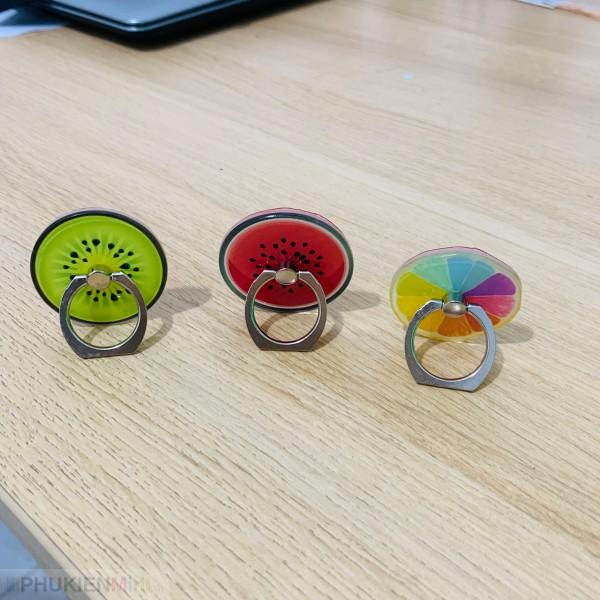 Nhẫn ring giá đỡ điện thoại cute , chất liệu Kim loại, Nhựa, loại Nhẫn