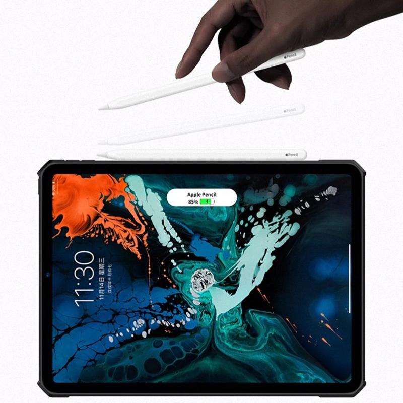Ốp lưng XUNDD cao cấp viền máy nhựa dẻo dầy chống sốc airbag thoát khí 4 góc, mặt lưng trong suốt bảo vệ iPad