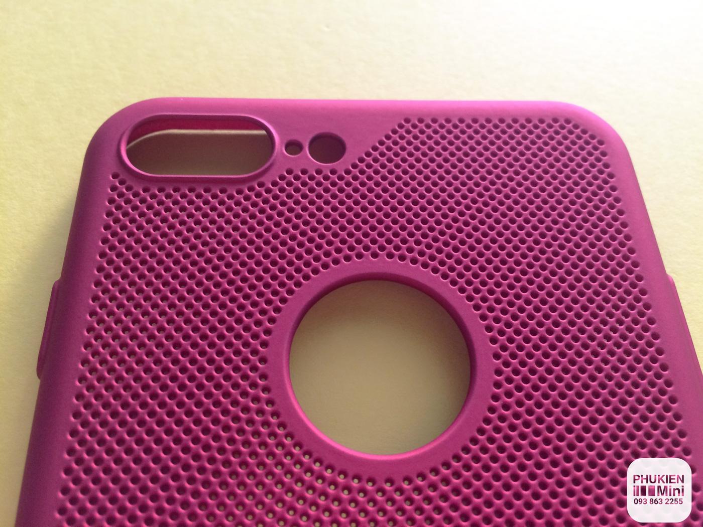 Ốp lưng lưới thoát nhiệt cho iPhone 6, 6s Plus, 7, 7 Plus